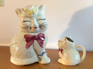Puss In Boots Cookie Jar   Creamer