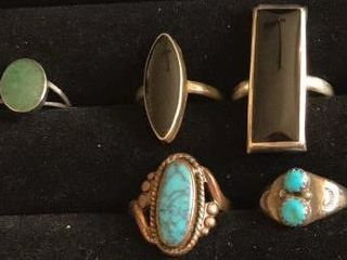 Many Handcrafted Rings