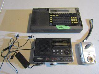 Sony Multi Band Radiom Sanegean Recorder