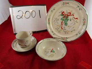 Marmalade Christmas Stoneware Dinner Service