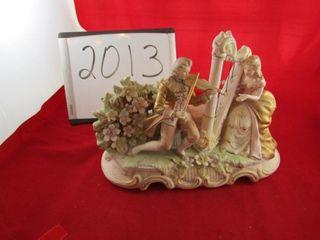 Porcelain Figure 14  x 11  H