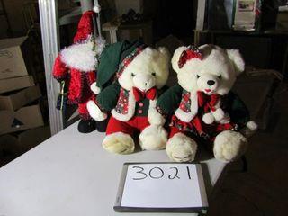 Christmas Bears   Father Christmas