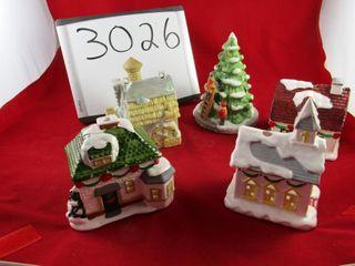 leMax Christmas tree  group of houses