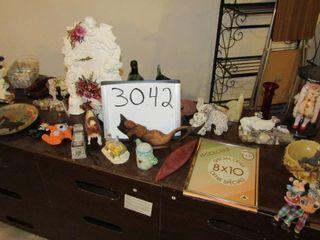 Misc  decor items table top