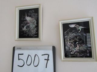 Glass paintings   6  x 4 25