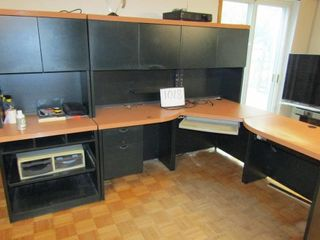 Computer sectional work station   Hutch 71  x