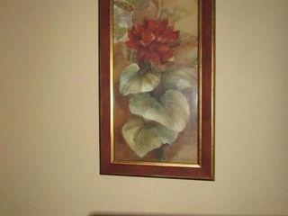 Pair of botanic prints