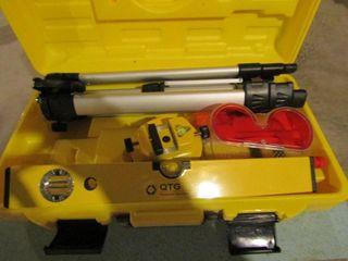 QTG laser level  complete kit
