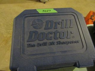 Drill Doctor drill bit sharpener  in case