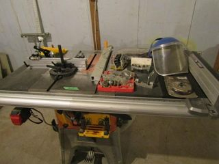 Rigid saw table   includes accessories and stand