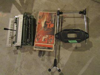 Router accessories  pantograph  Black   Decker rou