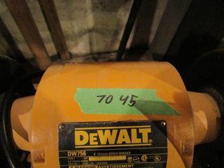 DeWalt 6  bench grinder  includes stand