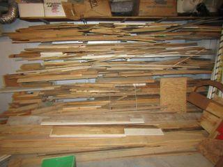 Assorted scrap lumber