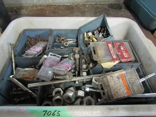 1 tray  2 drawer units of hardware  nuts and bolts