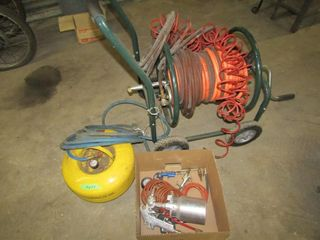 Air line  air line trolly   air paint sprayer  pre