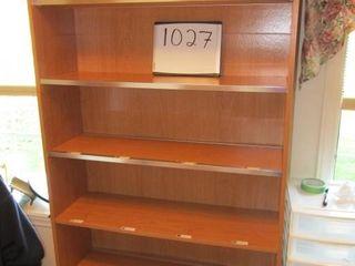 Book case   37  x 12  x 71  H
