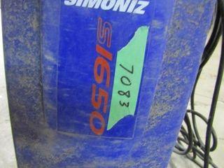 Simoniz pressure washer S1650