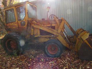 55 Case CK loader