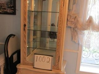 Curio Cabinet 30 5  W x 19  D x 80  H