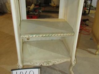French Provincial Stand  23  x 16 6  x 35 5  H