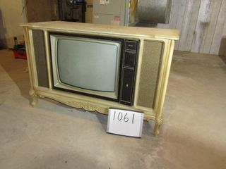 French Provincial Heathkit Television