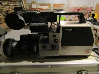 Sony Trinicon video recorder with case