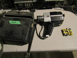 Anscomatic Super8 Camcorder with case