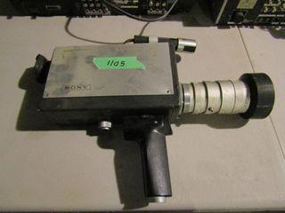 Sony video camera  no case