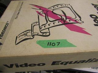 Videonics Video Equalizer  in box