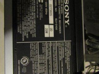 Sony DVD Player Video Cassette Recorder