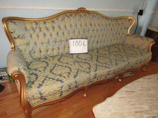 French Provincial sofa 92  l