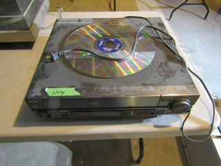 Sony Multi disc player with sample laser disc