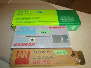 Sony AN 60  Sony AN 1  Samson MR 1