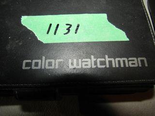 Garmin GPS  Sony color watchman