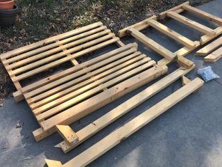 Kit for Wooden Bench