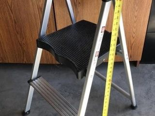 Aluminum and Plastic Step Stool