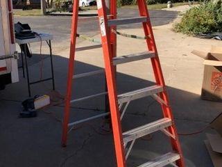 Werner Fiberglass 8 ft ladder