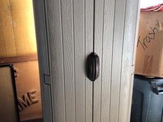 Suncast Plastic Outdoor Storage Closet