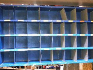 Blue Organizing Shelf