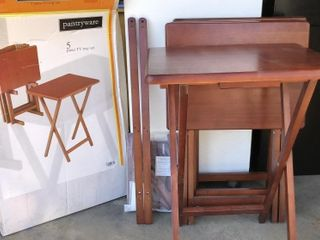 4  Pantryware TV Trays