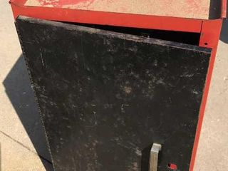 Montgomery Ward Power Kraft Metal Tool Cabinet