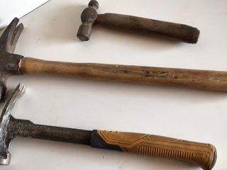 3 Hammers  DeWalt  Maughan    Ball Peen