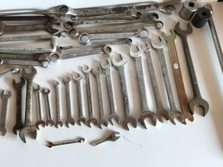 large Selection of Open end Wrenches  Standard
