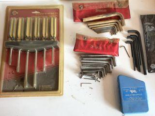 2  Snap On Hex Wrench Sets  Craftsman Hex Key Set