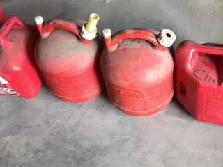 5  Gasoline Cans