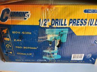 Turquoise Cummins Tools 1 2  Drill Press