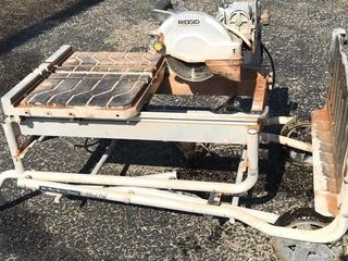Ridgid Tile Cutter with Stand