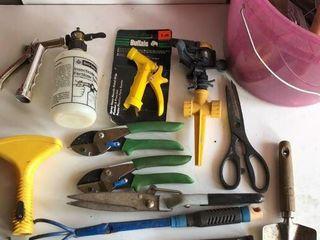 Gardening Hand Tools  Sprinklers  Snips