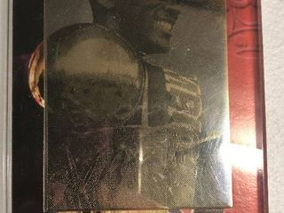 1997 Upper Deck Michael Jordan 22Kt Gold Trading Card in Original Acrylic Holder