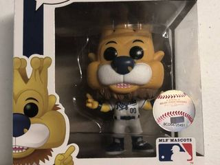 New In Box Funko POP Kansas City Royals Sluggerrr Figure   Brand New
